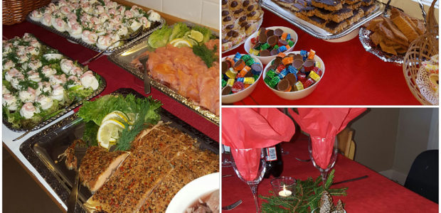 God Jul med julbord